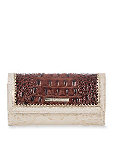 Brahmin Sorian Collection Soft Checkbook Wallet