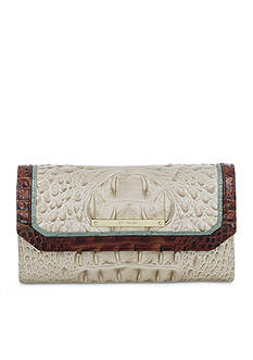 Brahmin Tri-Color Collection Soft Checkbook Wallet