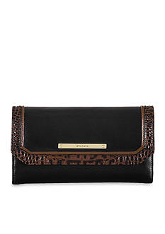 Brahmin Tri-Texture Collection Soft Checkbook Wallet