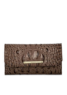 Brahmin Caron Collection Soft Checkbook Wallet