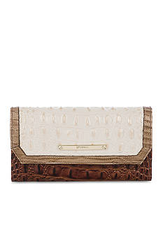 Brahmin Gemini Collection Soft Checkbook Wallet