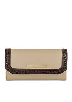 Brahmin Summer Tuscan Tri-Texture Collection Soft Checkbook Wallet
