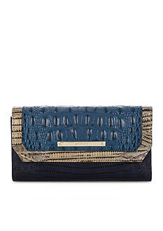 Brahmin Soft Checkbook Wallet Corbet Collection