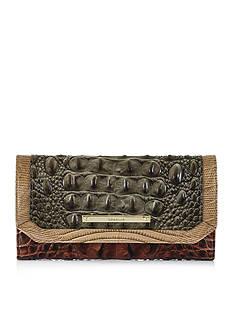 Brahmin Soft Checkbook Wallet Nottingham Collection