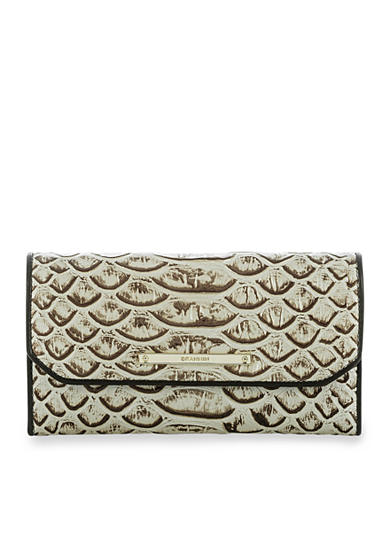 Brahmin Soft Checkbook Wallet Dogwood Collection