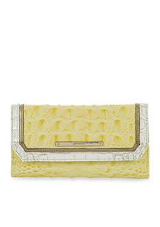 Brahmin Fairchild Collection Soft Checkbook Wallet