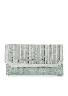 Brahmin Edgewater Collection Soft Checkbook Wallet