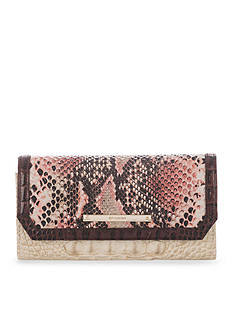 Brahmin Collins Collection Soft Checkbook Wallet