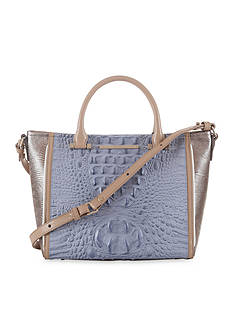 Brahmin Fountainebleau Collection Mini Arno Satchel