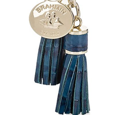 Handbags and Wallets: Palace Brahmin Melbourne Collection Tassle Key Ring