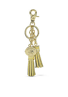 Brahmin Melbourne Collection Tassle Key Ring