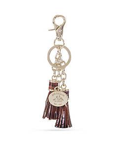 Brahmin Melbourne Collection Tassle Key Ring