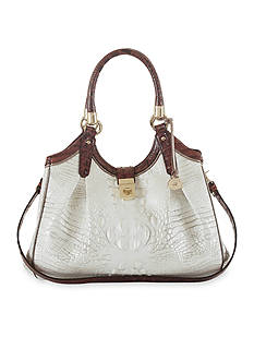 Brahmin Okoya Collection Elisa Satchel