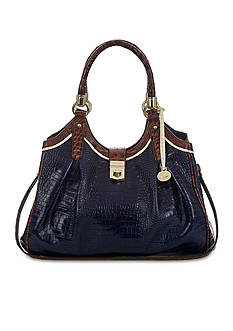 Brahmin Tri-Texture Collection Elisa Hobo Bag
