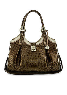 Brahmin Elisa Satchel Primerose Collection