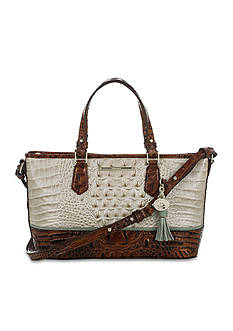 Brahmin Tri-Color Collection Mini Asher Satchel