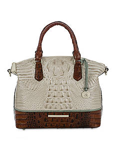 Brahmin Tri-Color Colection Duxbury Satchel