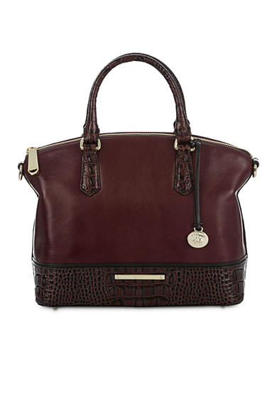 Brahmin Duxbury Satchel Malbec Tuscan Collection