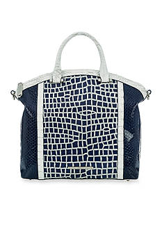 Brahmin Sky Line Belk Exclusive Collection Large Duxbury Satchel