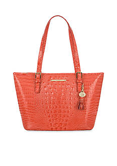 Brahmin Glossy Melbourne Collection Medium Asher Tote