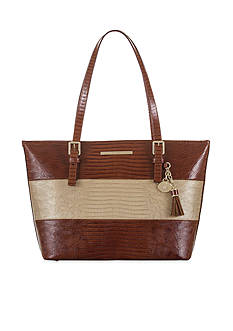 Brahmin Lizard Vineyard Collection Medium Asher Tote