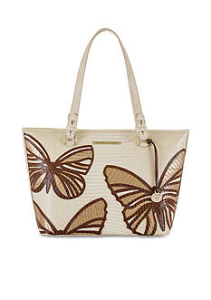 Brahmin Monte Collection Medium Asher Butterfly Tote