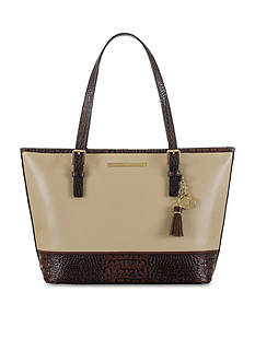 Brahmin Summer Tuscan Tri-Texture Collection Medium Asher Tote
