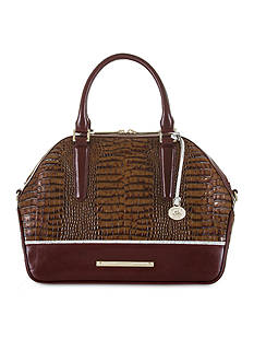 Brahmin Hudson Satchel Tri-Texture Collection