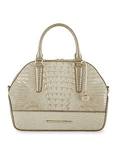 Brahmin Tri-Texture Collection Hudson Satchel