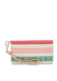 Brahmin Cayo Coco Collection Debra Wristlet Wallet