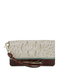 Brahmin Tri-Texture Collection Debra Wristlet