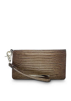 Brahmin Debra Wristlet Wallet Fashion Lizard Collection