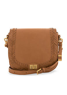 Brahmin Knoxville Collection Southcoast Sonny Saddle Bag