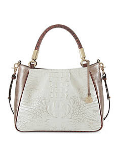 Brahmin Akoya Collection Ruby Satchel Bag