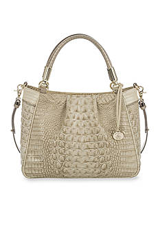Brahmin Tri-Texture Collection Ruby Satchel