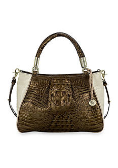 Brahmin Ruby Satchel Primrose Collection