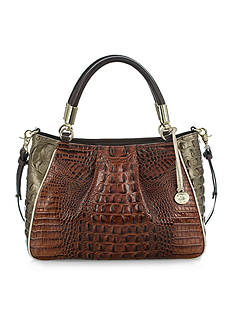 Brahmin Ruby Satchel Azuma Collection