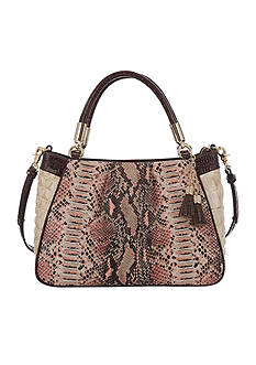 Brahmin Rhodes Collection Ruby Satchel