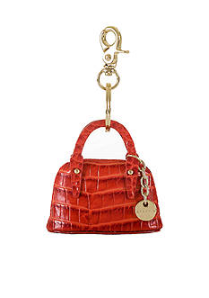 Brahmin Melbourne Collection Mini Handbag Key Fob