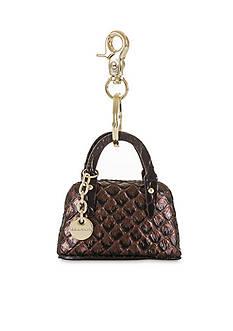 Brahmin Handbag Key Fob Java Collection