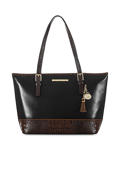 Brahmin Medium Asher Tote Tuscan Tri-Texture Collection