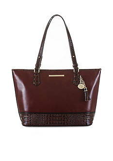 Brahmin Medium Asher Tote Autumn Tuscan Collection