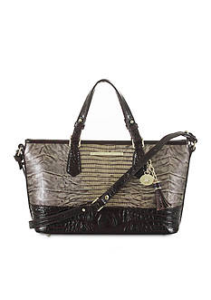 Brahmin Mini Asher Satchel Pennfield Collection