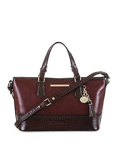 Brahmin Mini Asher Satchel Autumn Tuscan Collection