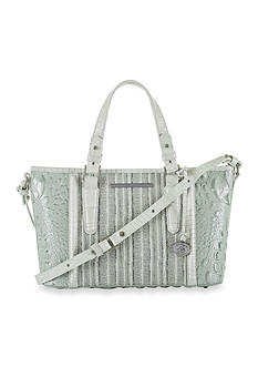 Brahmin Edgewater Collection Mini Asher Satchel Bag
