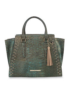 Brahmin Moa Collection Priscilla Satchel Bag
