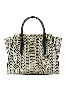 Brahmin Priscilla Satchel Dogwood Collection