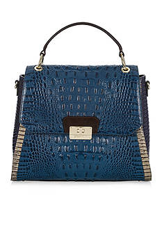 Brahmin Brinley Top Handle Flap Bag Corbet Collection