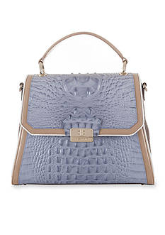 Brahmin Fountainebleau Collection Brinley Top Handle Bag