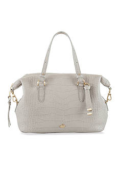 Brahmin Savannah Collection Southcoast Delaney Satchel
